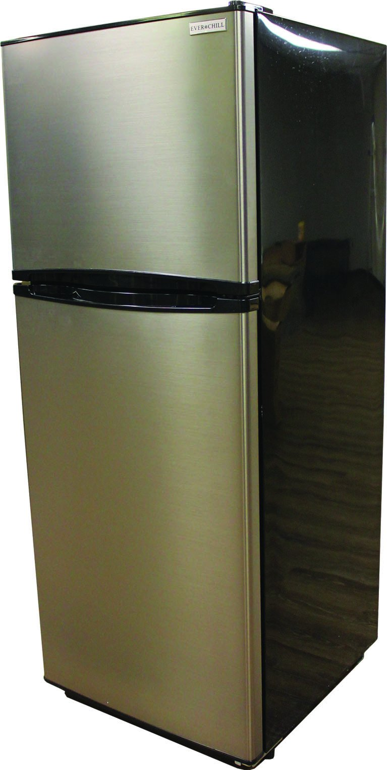 Everchill 10.7 Cu Ft 12 Volt RV Refrigerator  BCD280WEV804F