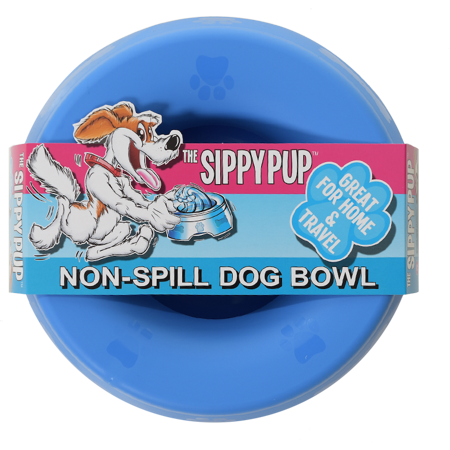 Non-Spill Water Bowl - Blue *Special Price - Limited Quantity*