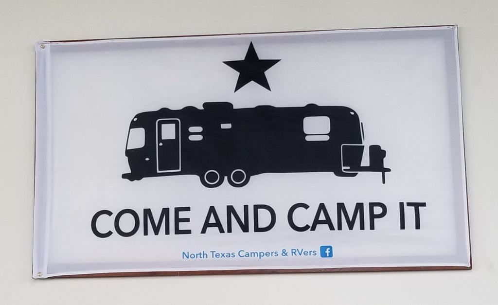 COME AND CAMP IT - Single Sided Flag - 3' X 5'