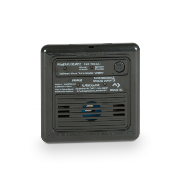 Dual LP/CO Alarm - Black - 31012