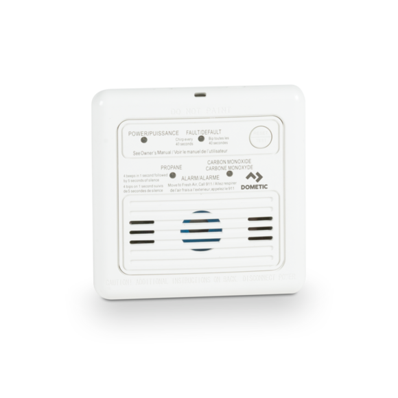 Dual LP/CO Alarm - White - 36681