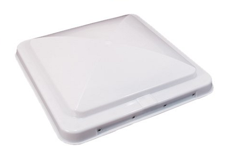 RV Roof Vent Replacement Lid - White