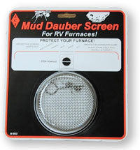 Mud Dauber Furnace Screen