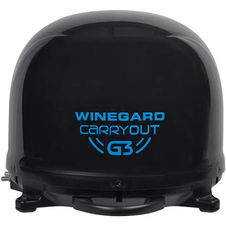 Winegard G3 Automatic RV Satellite - Black  GM-9035