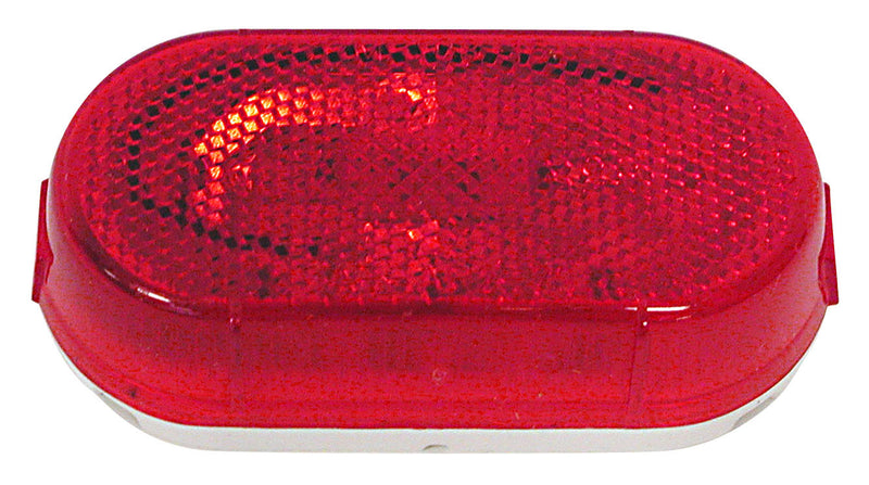 Clearance/Side Marker Light - w/ Reflex - Red