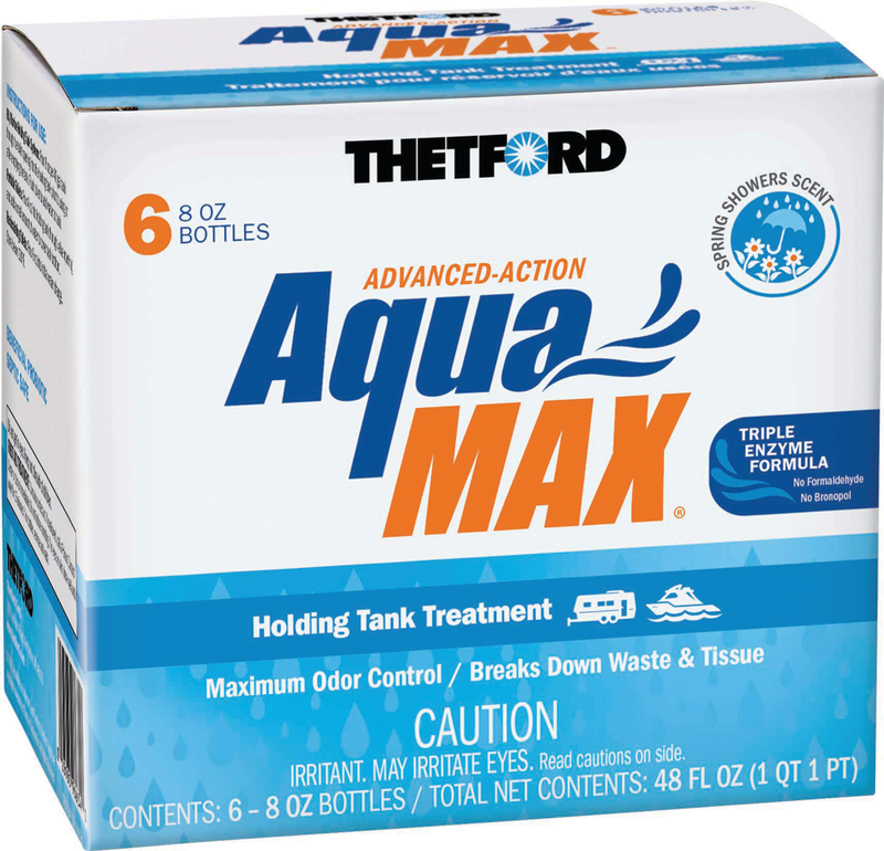 AquaMax Spring Showers Scent  - 6 Pack  8 oz.  96634