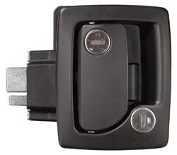 RV Door Lock - Black  43610-06