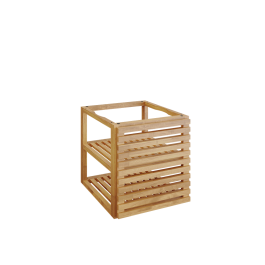 OFYR Storage Insert PRO with 1 door Teak Wood Small