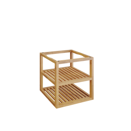 OFYR Storage Insert PRO Teak Wood Small
