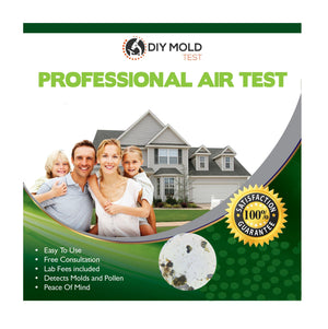 Professional Air Test - Mold testing kit for home