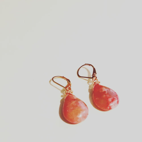 Strawberry Quartz Briollettes