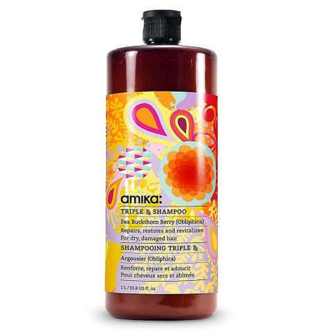 AMIKA Triple Rx Shampoo - Believe Barber & Beauty Shop
