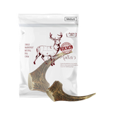 Absolute Bites Whole Deer Antler Dental Dog Chew