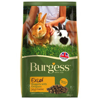 Burgess Excel Tasty Nuggets With Oregano For Adult Rabbits 2kg