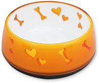All For Paws Love Bowl (Orange)