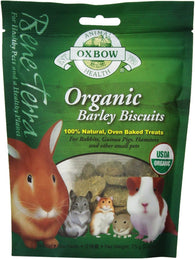 Oxbow Organic Barley Biscuit For Small Animals 75g