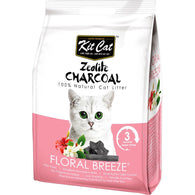 Kit Cat Zeolite Charcoal Cat Litter Series (4kg) Floral Breeze