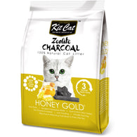 Kit Cat Zeolite Charcoal Cat Litter Series (4kg) Honey Gold