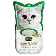 Kit Cat Purr Puree Cat Treat Series (60g) Chicken and Scallop