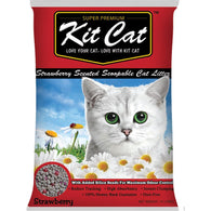 Kit Cat Classic Clump Litter (10L/7kg)  Strawberry