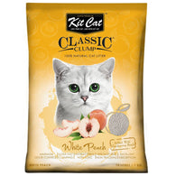 Kit Cat Classic Clump Litter (10L/7kg) White Peach