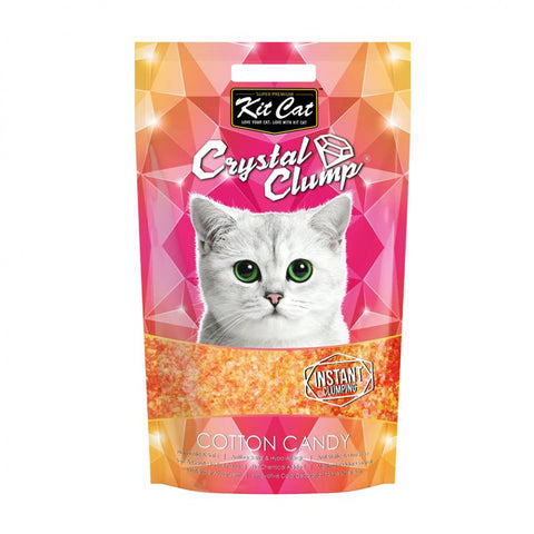Kit Cat Crystal Clump Litter Series (4L/1.8kg) Cotton Candy
