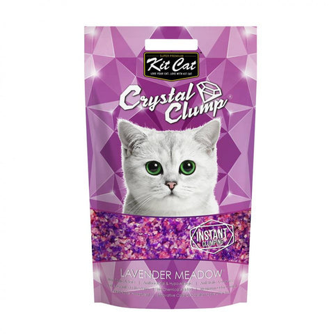 Kit Cat Crystal Clump Litter Series (4L/1.8kg) Lavender Meadow