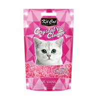 Kit Cat Crystal Clump Litter Series (4L/1.8kg) Pink Vanilla