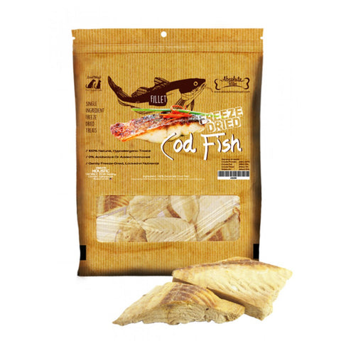 Absolute Bites Freeze Dried Cod Fish Treats