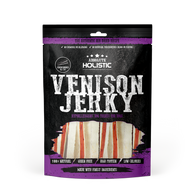 Absolute Holistic Venison Jerky Venison & Whitefish Sandwich Grain Free Dog Treats 100g
