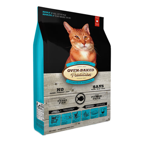 Oven-Baked Tradition Adult Fish Cat Dry Food