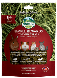Oxbow Simple Rewards Timothy Treats For Small Animals 40g