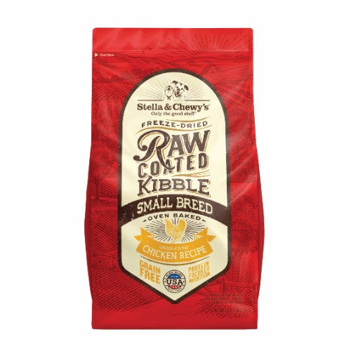 Stella & Chewy's Freeze Dried Raw Coated Dog Kibble (Small Breed Chicken)