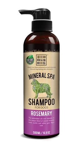 Reliq Mineral Spa Rosemary Shampoo For Dogs