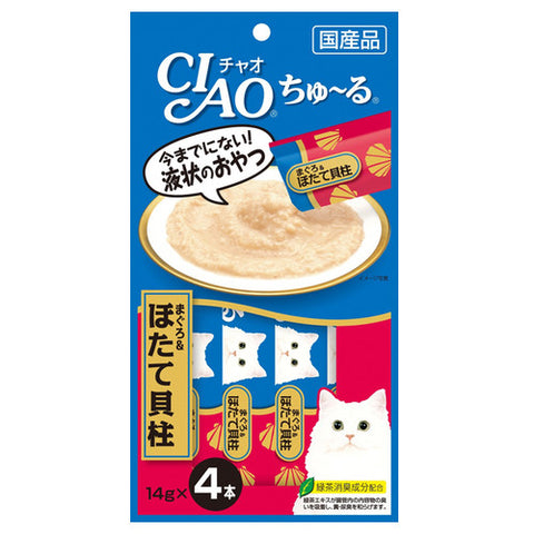 Ciao Churu Cat Treats (Tuna and Scallop)