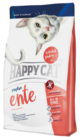 Happy Cat Sensitive Ente(Duck) cat dry food