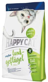 Happy Cat Sensitive Land-Geflugel( poultry) cat dry food