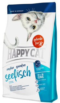 Happy Cat Sensitive Grainfree Seefisch( Sea fish with poultry and potato)