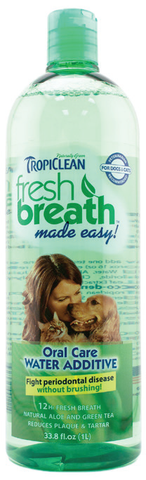 Tropiclean Fresh Breath Water Additive (16 o.z / 1L)