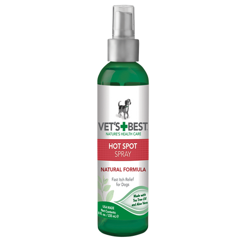Vet's Best Dog Hot Spot Itch Relief Spray 8oz
