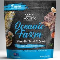 Absolute Holistic Air Dried Blue Mackerel & Lamb Dog Treats 100g