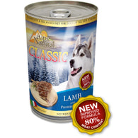 Alps Natural Classic Lamb Canned Dog Food 400g