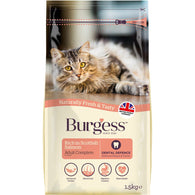 Burgess Scottish Salmon Adult Dry Cat Food 1.5kg