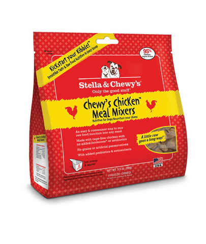 Stella & Chewy's Chewy's Chicken Meal Mixers Freeze-Dried Dog Food