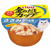 Ciao Kinnodashi Chicken Fillet In Gravy With Dried Bonito Topping Cup Cat Food 70g