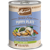 Merrick Classic Grain-Free Puppy Plate Canned Dog Food 374g