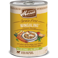 Merrick Classic Grain-Free Wingaling Canned Dog Food 374g