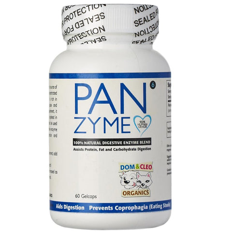 Dom & Cleo Panzyme Supplement 60 Cap