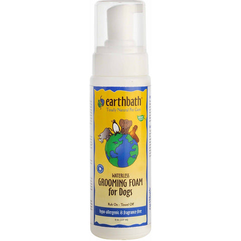 Earthbath Hypo-Allergenic Waterless Grooming Foam For Dogs 8oz