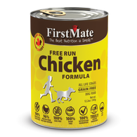 FirstMate Grain Free Free Run Chicken Formula Canned Dog Food 12.5oz